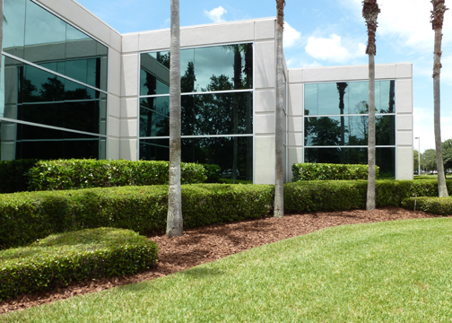 Commercial Mulch Installation Service