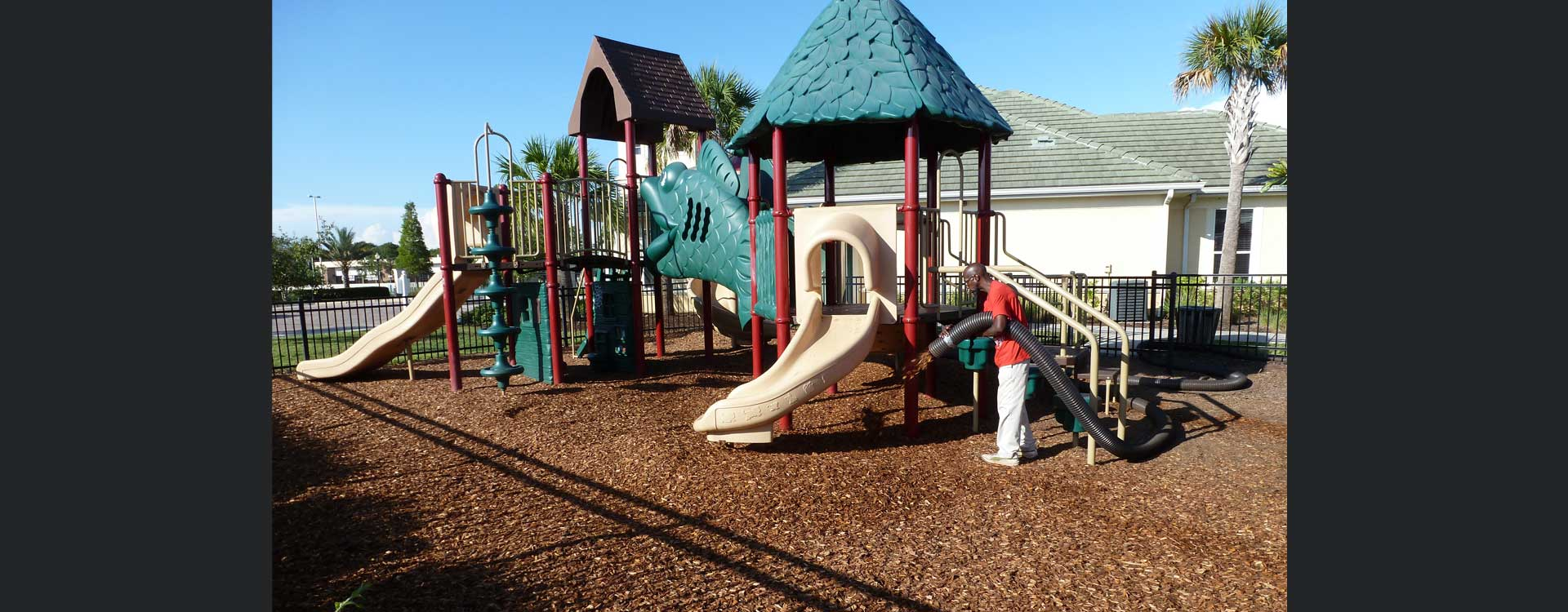 Playground Mulch Orlando - Major Mulch Installations